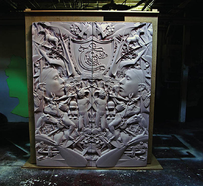 Chandelier Creative Office Doors-2 - machinehistories