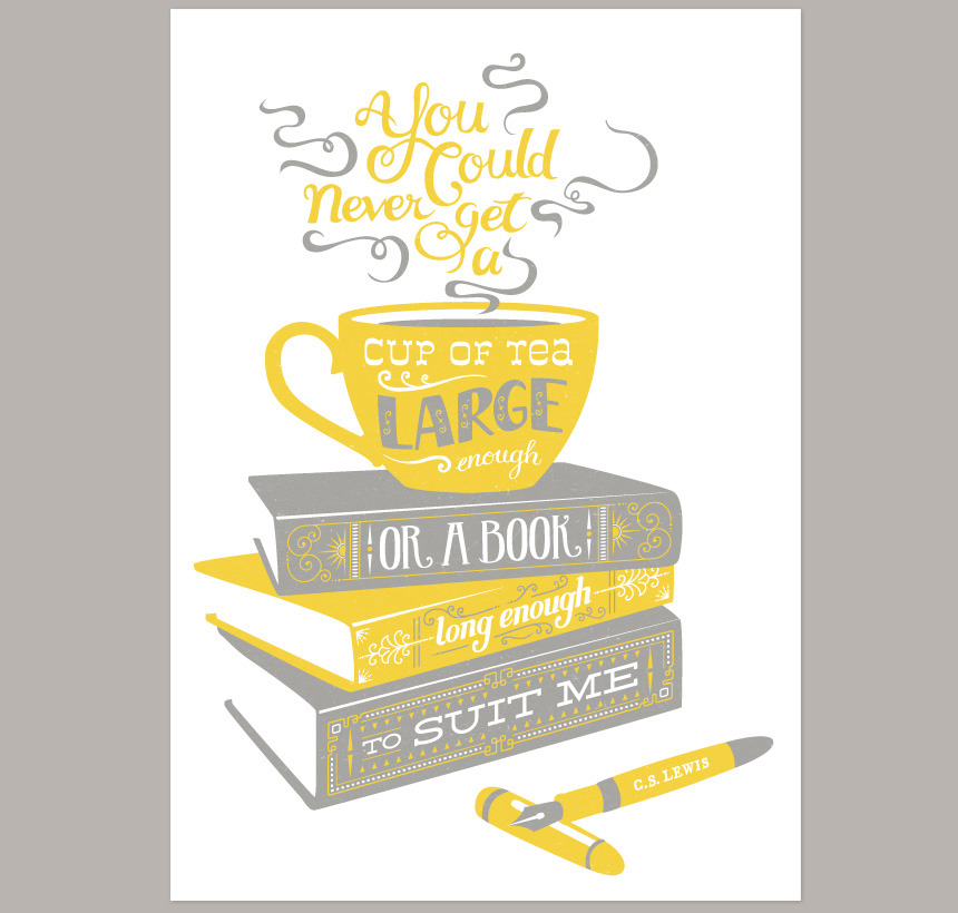 Pretty Things - Tea & Books