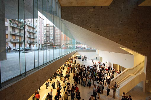 News grafton architects for Sede bocconi milano
